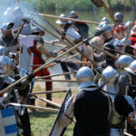 The Battle under Zbořený Kostelec 2010